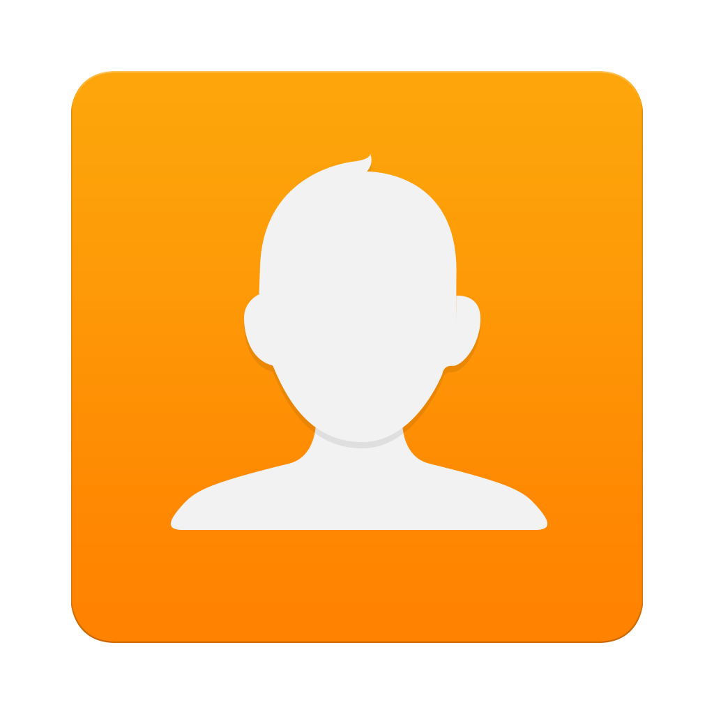 Contacts Icon Galaxy S6 PNG Image.