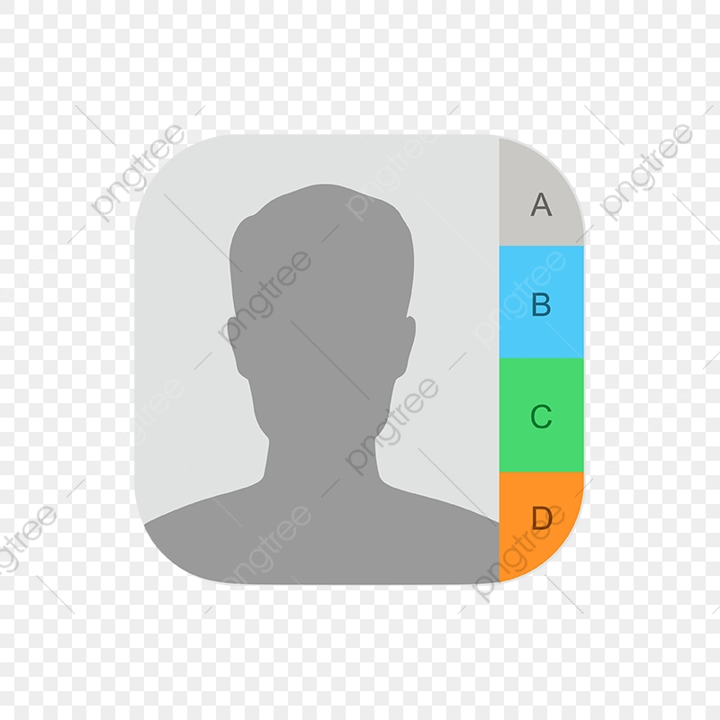 Iphone Contacts Icon, Iphone, Phone, App PNG and Vector with.