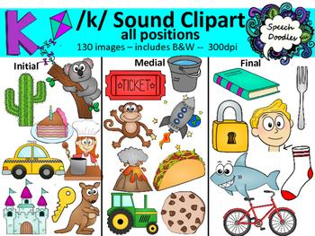 K sound clipart.