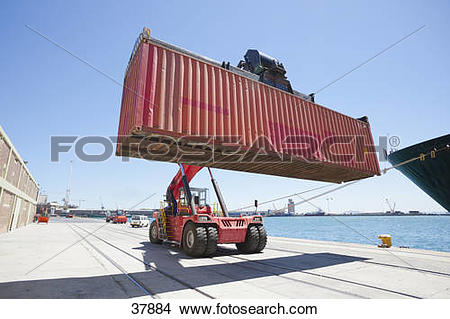 Container crane Stock Photos and Images. 12,450 container crane.