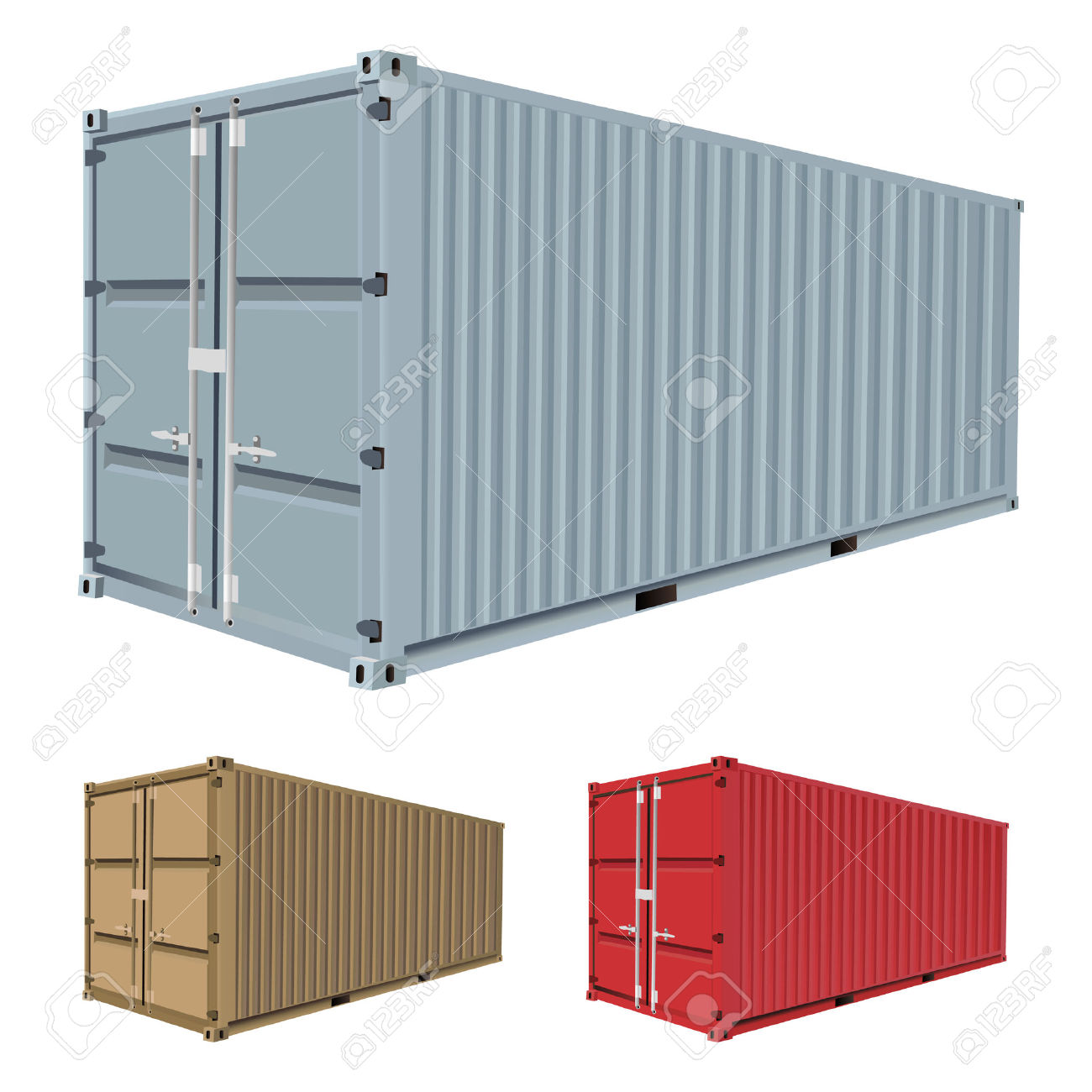 Container Clipart Page 1.
