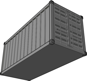 Shipping Container Clip Art at Clker.com.