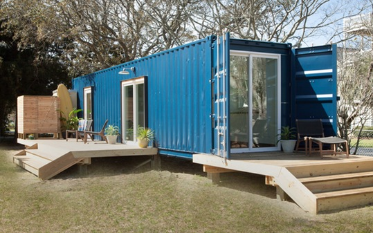 Shipping Container Beach Houses.