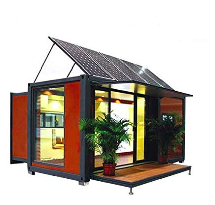 Shipping container Home for Sale: Solar Energy Panels!.