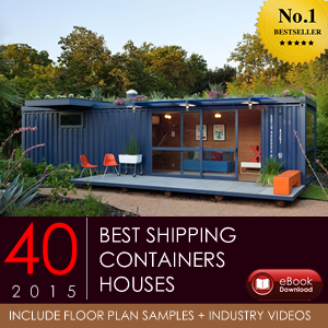 40 BEST SHIPPING CONTAINERS HOMES / HOUSES AROUND THE GLOBE / 2015..