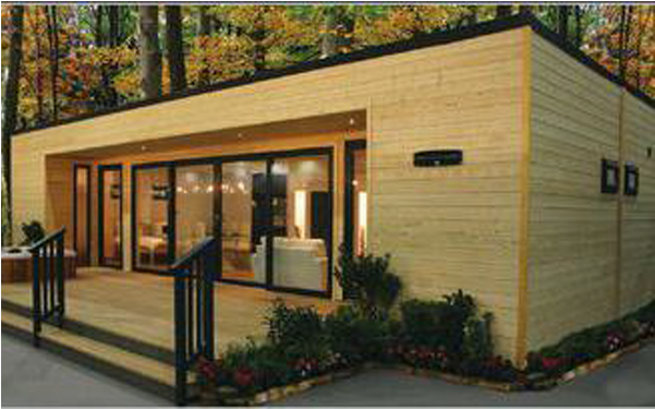 HD 3 Bedroom Shipping Container Home With Deck.