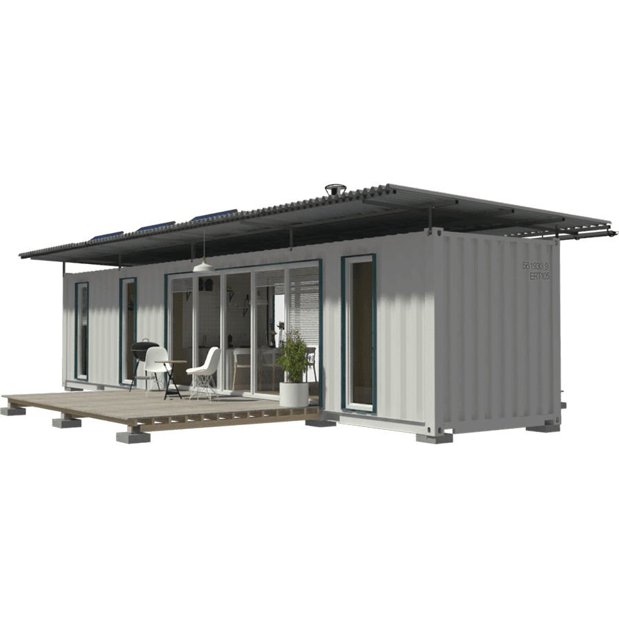 40ft Container House Plans.