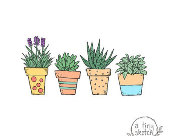 Flower pot clipart.