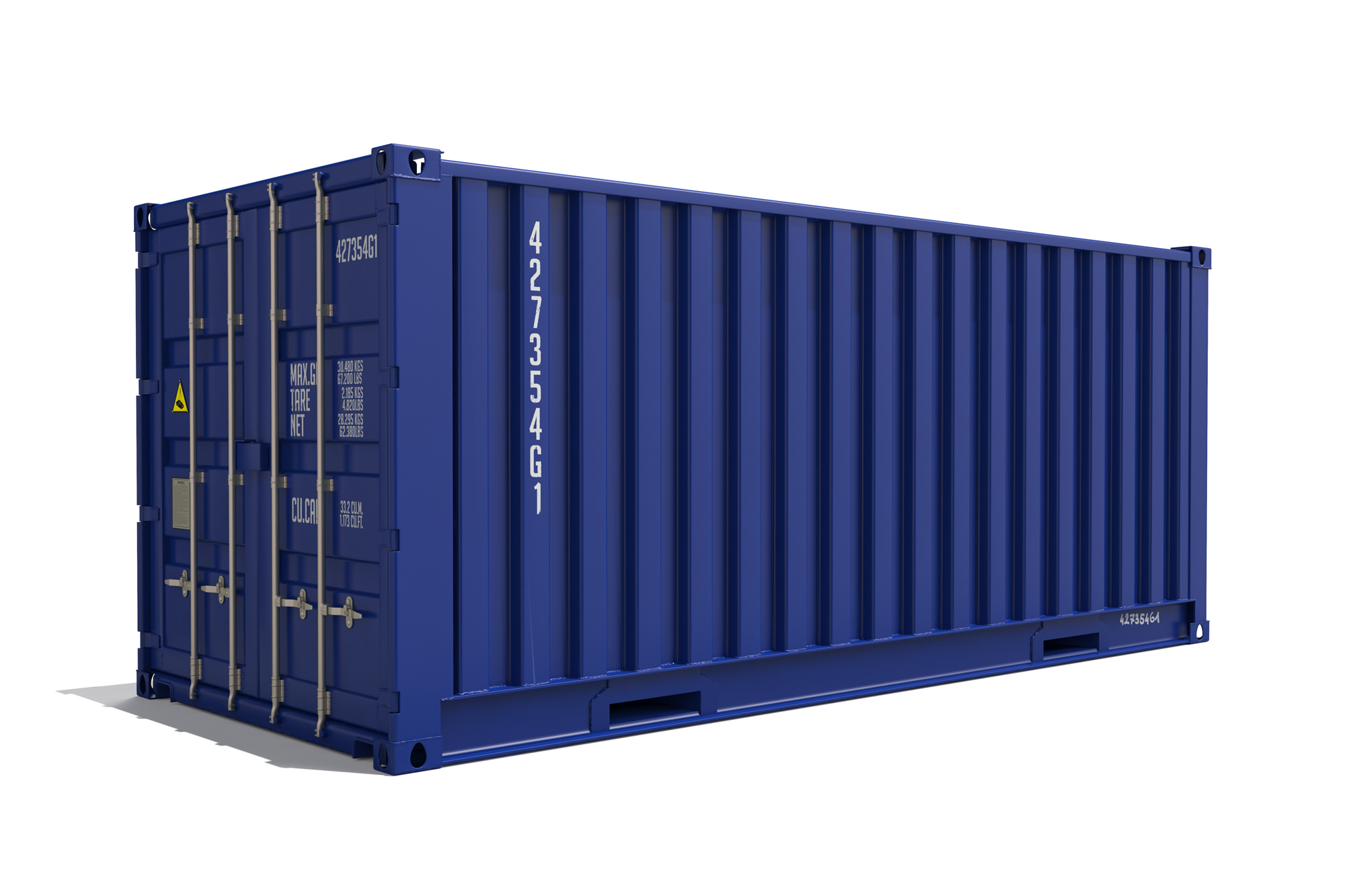 Shipping container PNG Images.