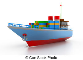 Container ship Stock Illustration Images. 14,595 Container ship.