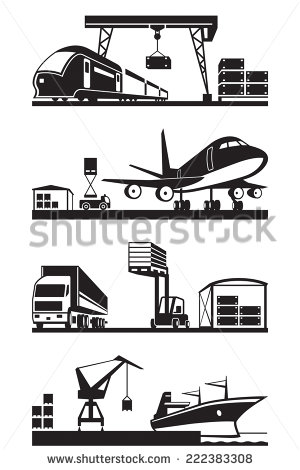 Cargo Terminal Stock Photos, Royalty.
