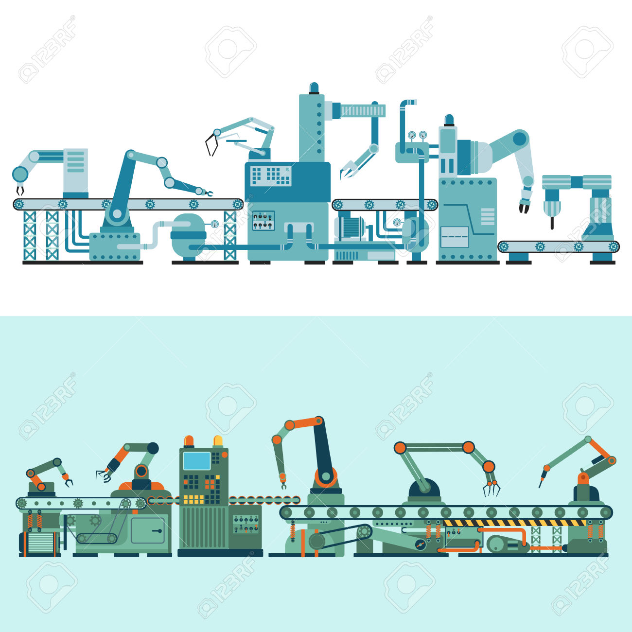 126,319 Industrial Technology Stock Vector Illustration And.