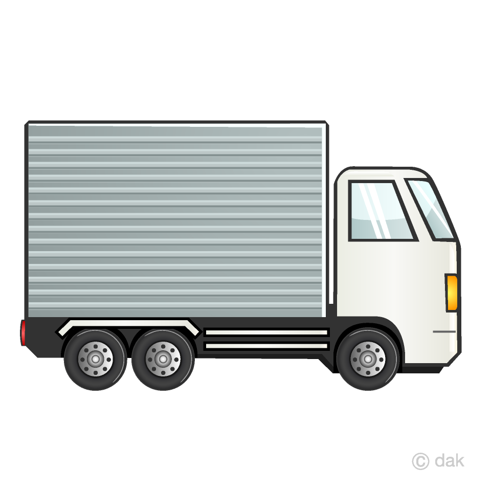 Container Truck Clipart Free Picture|Illustoon.