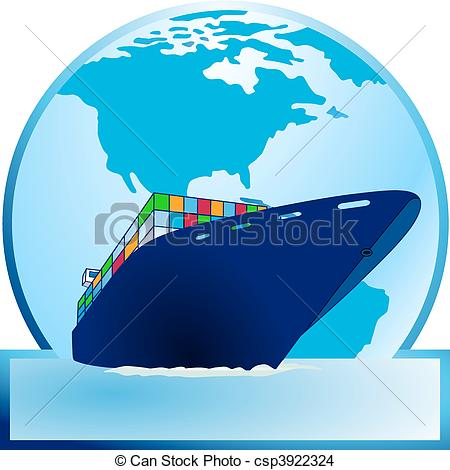 Container ship Vector Clipart EPS Images. 7,696 Container ship.