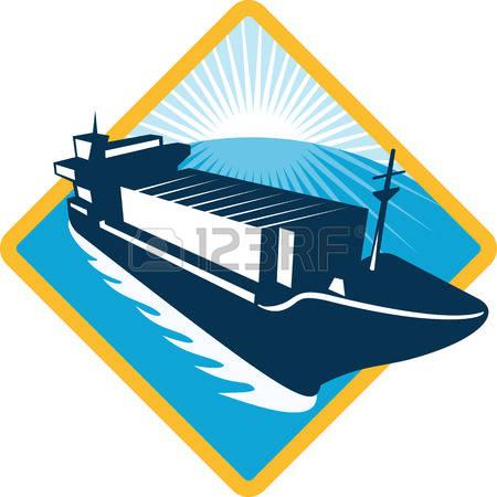 20,124 Cargo Ship Cliparts, Stock Vector And Royalty Free Cargo.