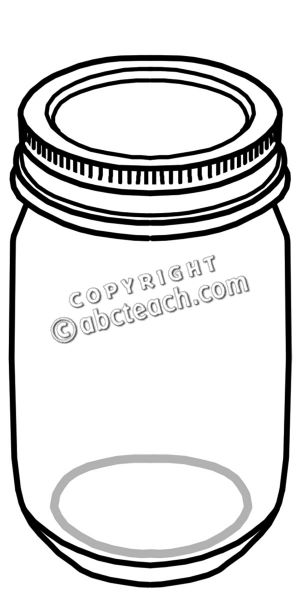 Clip Art Food Containers.