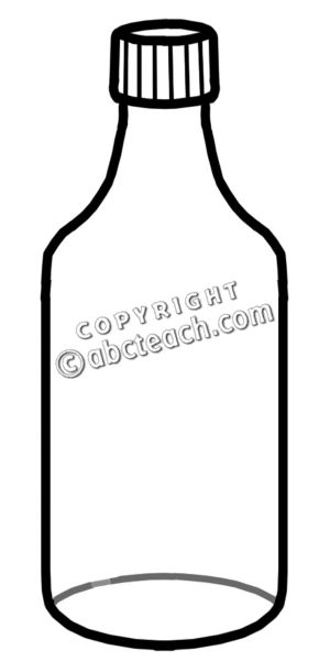 Food containers black and white clipart.