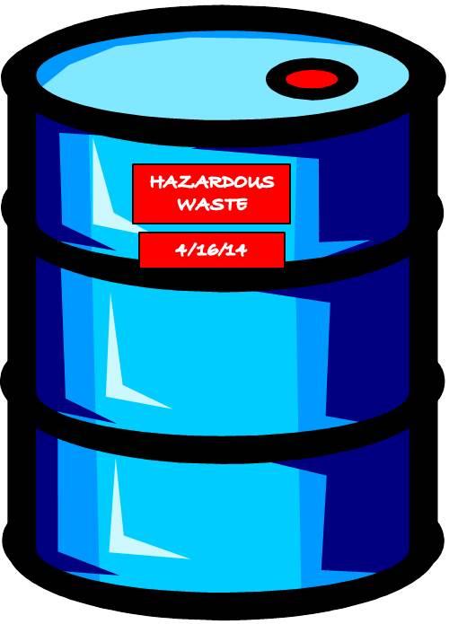 Clip Art Hazardous Containers Clipart.