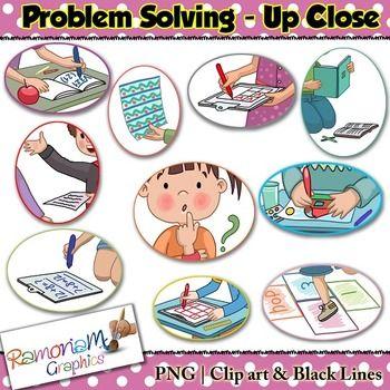 Problem Solving Clip art.