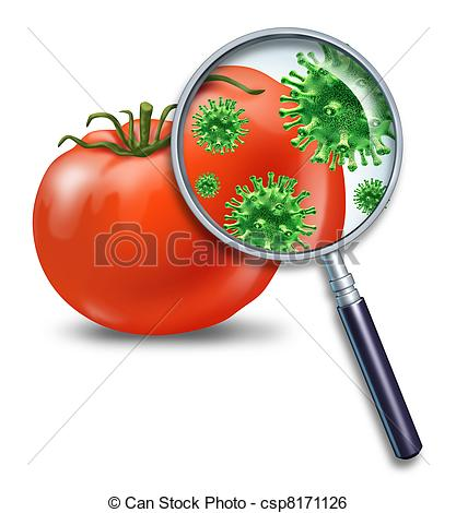 Contaminated Food Clipart.