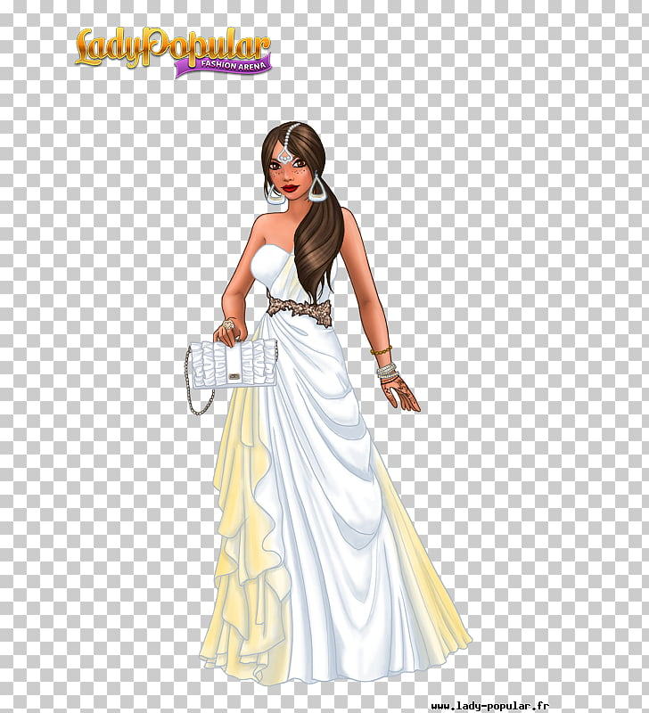 Lady Popular Fashion Game Clothing, veiled woman contemplate.