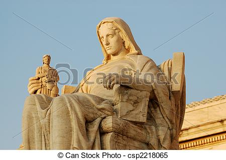 Stock Images of Contemplation of Justice.