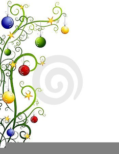 Free Contemporary Christmas Tree Clipart.