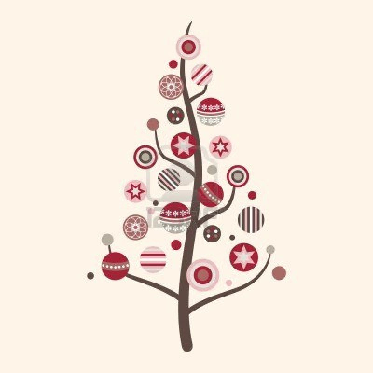 Clipart Modern Christmas Tree Xmas Tree.
