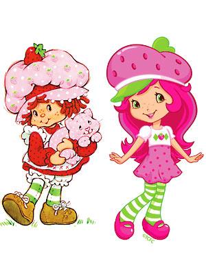 Contemporary Strawberry Shortcake Clip Art.