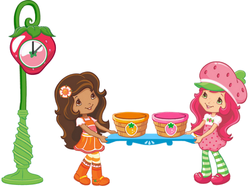 Strawberry shortcake cartoon characters contemporary strawberry.