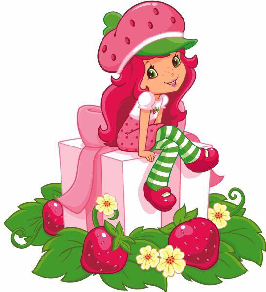 Collection of Strawberry shortcake clipart.