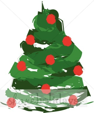 Showing post & media for Contemporary christmas tree cartoon.