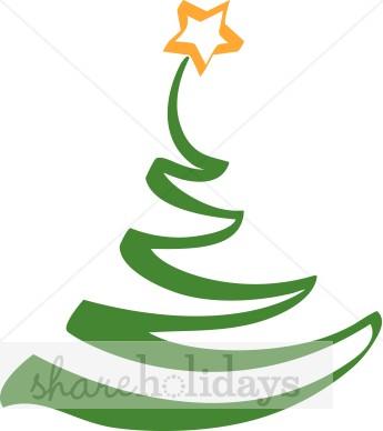 Christmas Tree Contemporary.