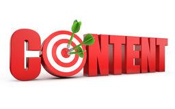 Content Stock Illustrations.