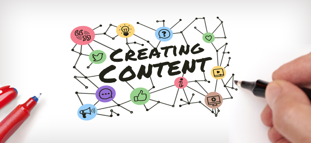 How to create content on the spot!.