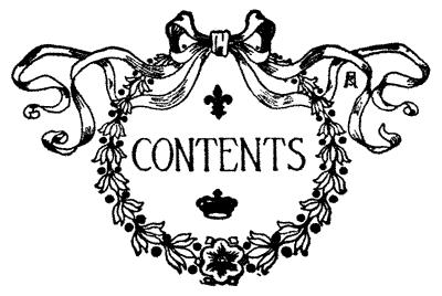 Contents Clipart.
