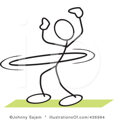 Gallery For Hula Hoop Contest Clipart.