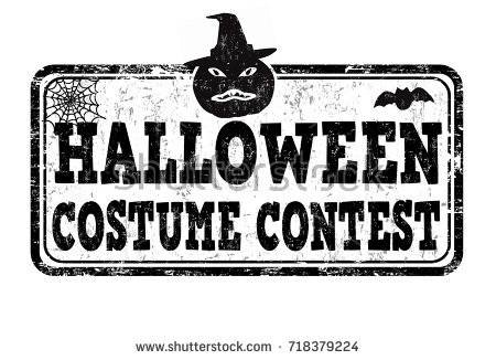 Halloween clip art contest.