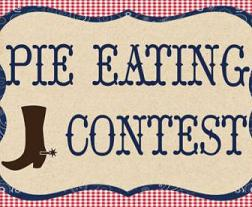 Free Pie Eating Contest Clipart.