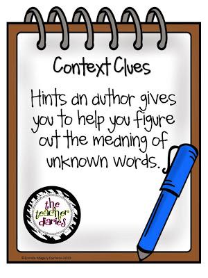 Context clues clipart.