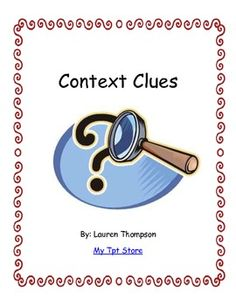 Using synonyms to define context clues in newspaper articles.
