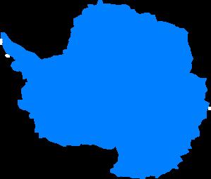 Antarctica continent clipart.