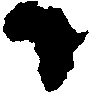 Africa continent clipart.