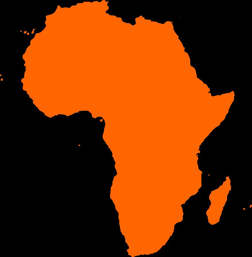 Continents Clip Art.