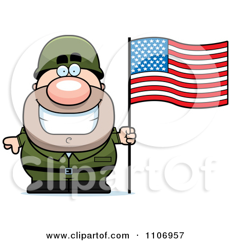 Continental army soldier clipart.