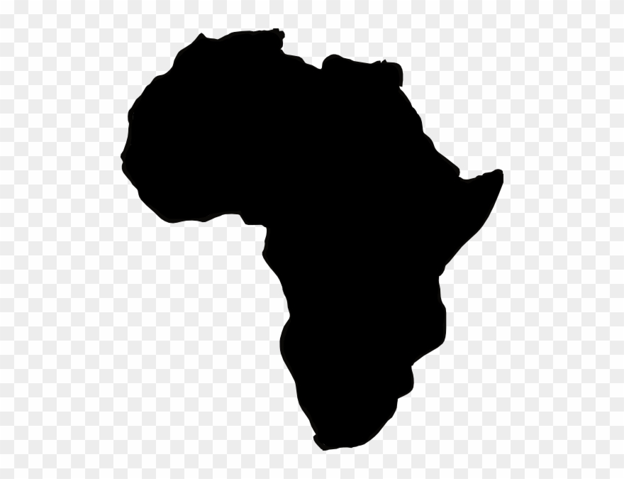 Africa Continent Vector Clipart (#1908967).