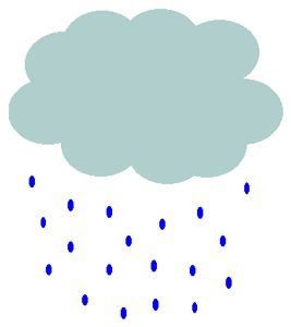 rain cloud clipart.