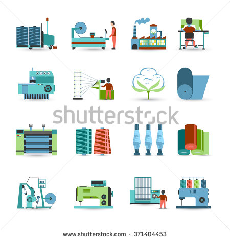 Textile Industry Stock Photos, Royalty.