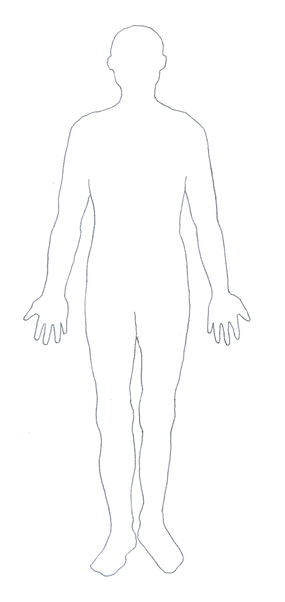 Human Body Diagram.