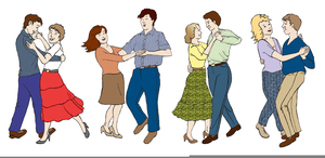 Contra Dance Clipart.
